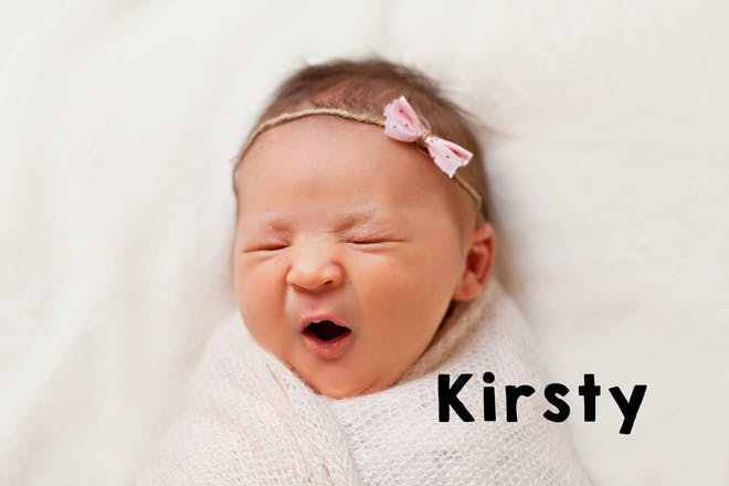 Kirsty baby name