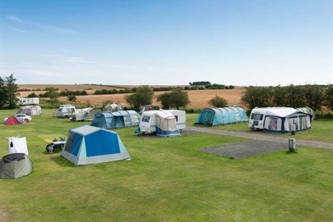 Dunstan Hill Camp site