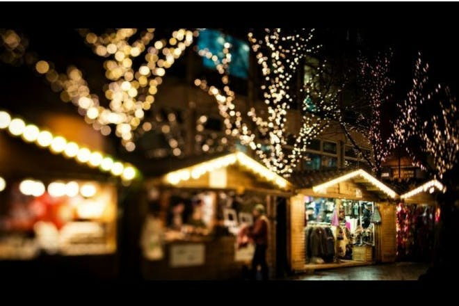 Manchester's Cathedral Gardens Family Christmas Market