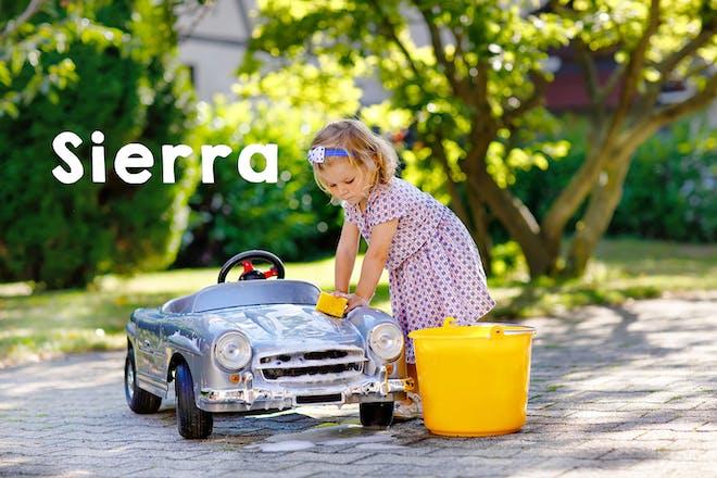 Sierra baby name