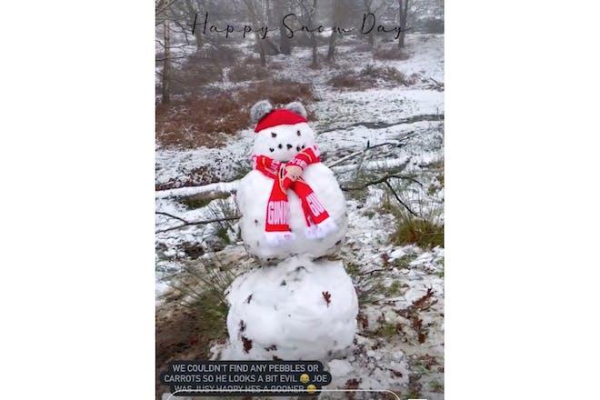 stacey solomon snow