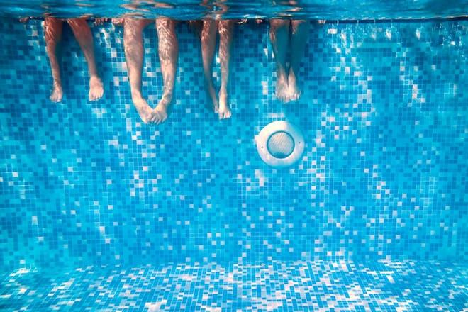 Nostalgic holidays swimming pool