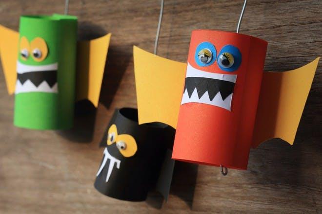 Cardboard monsters