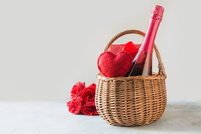 5. Make a Valentine's hamper