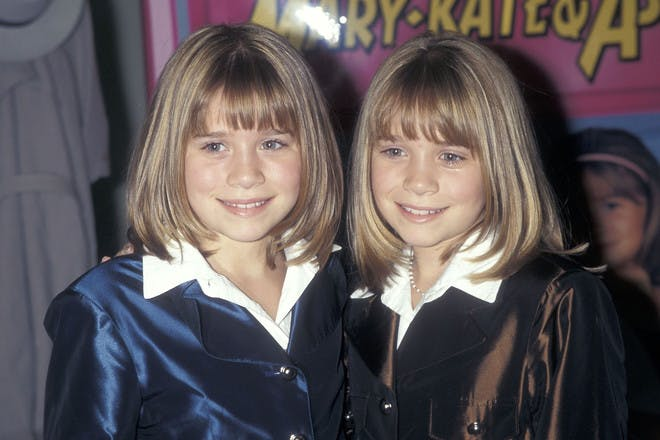 Mary Kate and Ashely Olsen