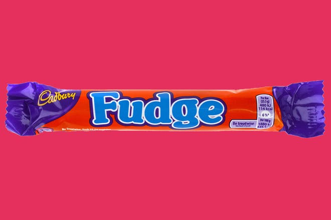 Fudge chocolate bar