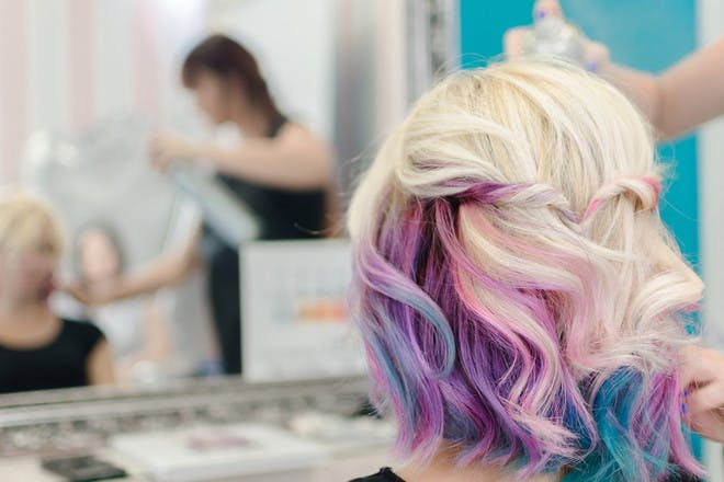 25. Underneath hair colours