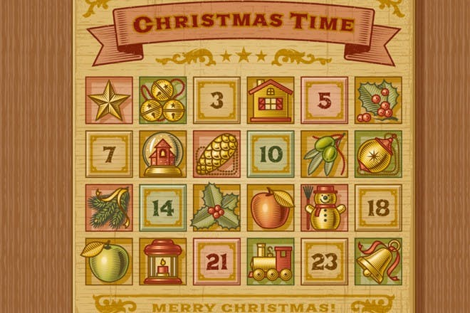 Card Advent calendars