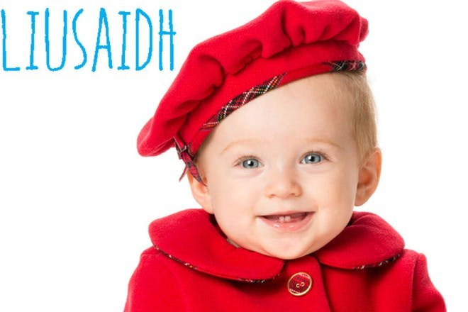 baby with red hat and coat