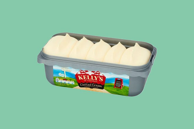 Tub of Kelly's ice cream