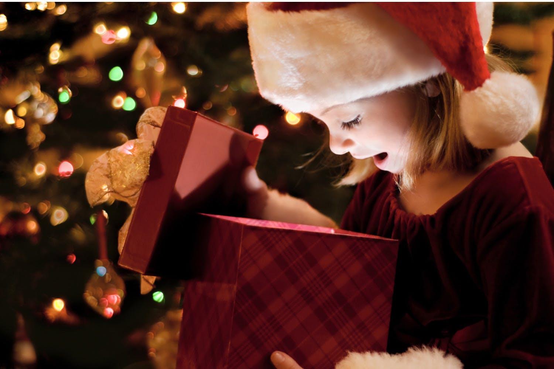 Festive Santa/'s Grotto Christmas Eve Boxes