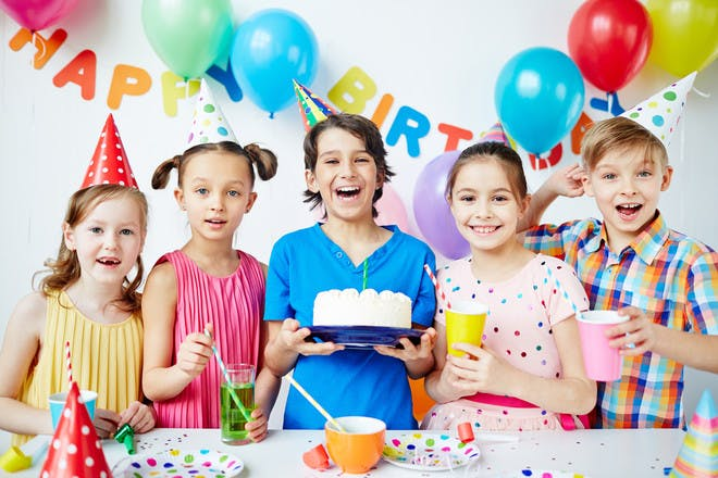 Kids' party trends for 2018