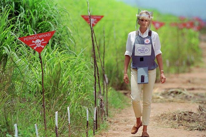 Princess Diana landmines