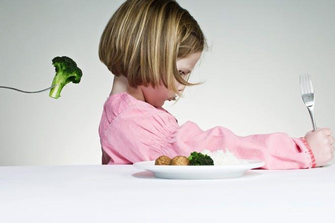 Toddler refusing broccoli