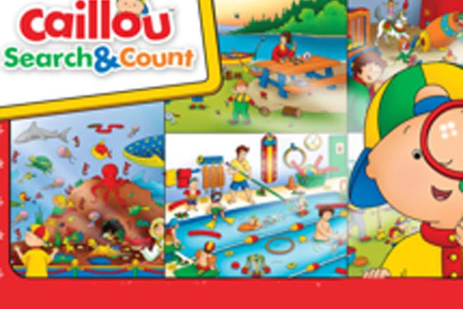 12. Caillou Search & Count