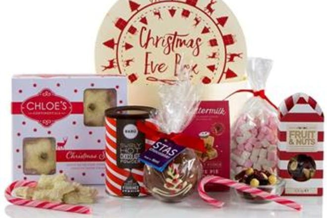 Sweet treats Christmas Eve box