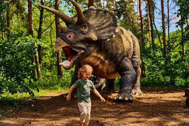 Dino Kingdom at Thoresby Park, Nottinghamshire