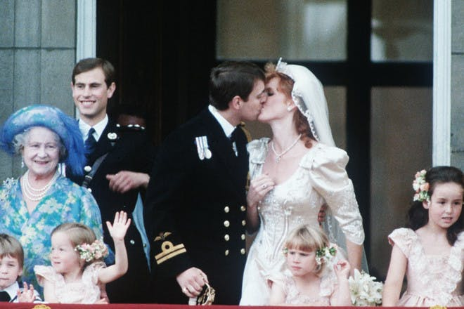 Sarah Ferguson royal wedding dress