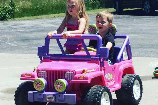 30. Barbie Jeep