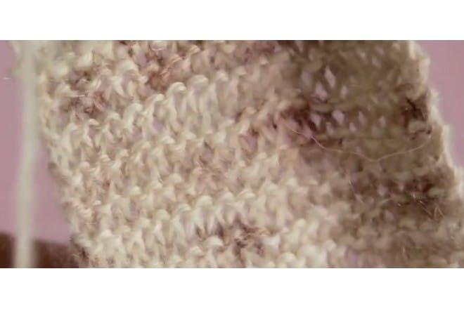 blood knitting