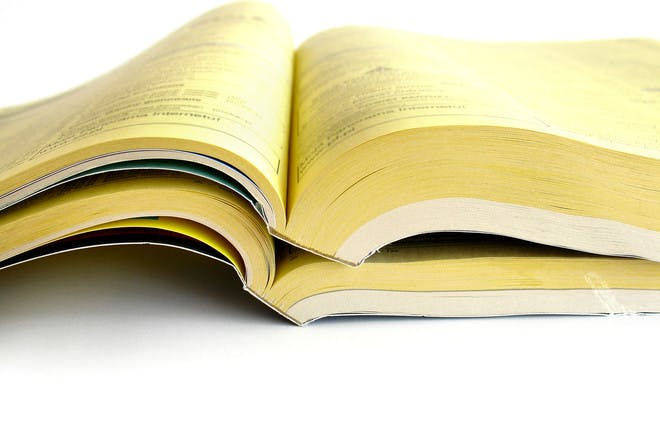 Yellow Pages and phone books