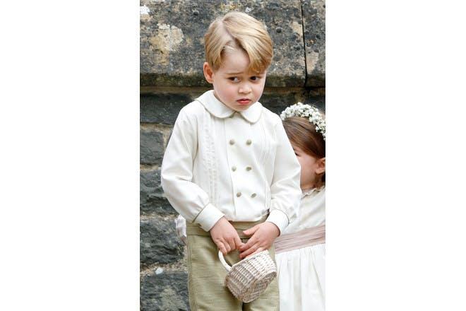 Prince George at Pippa Middleton's wedding