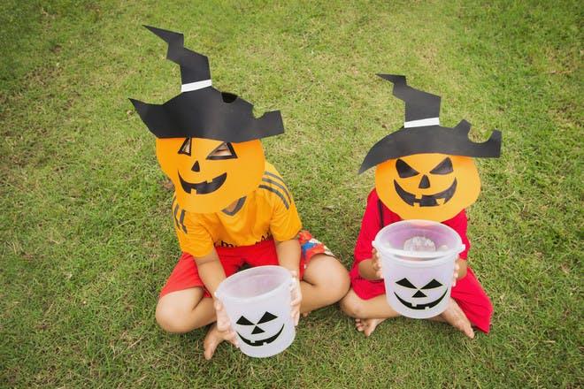 9 easy-to-make Halloween masks