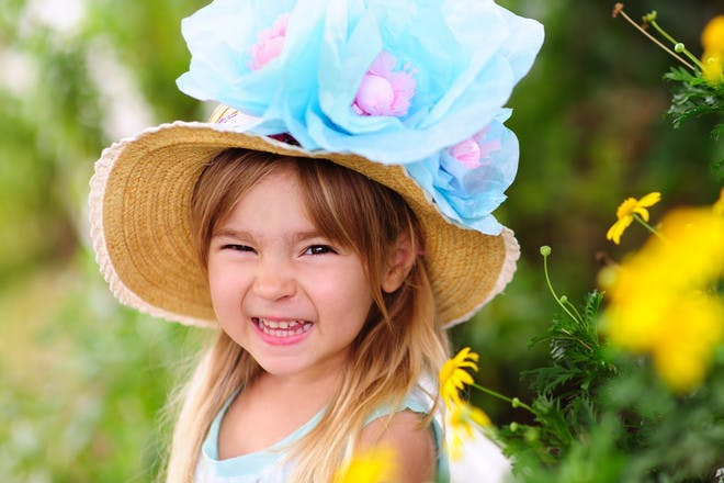 Quick and easy Easter bonnet ideas