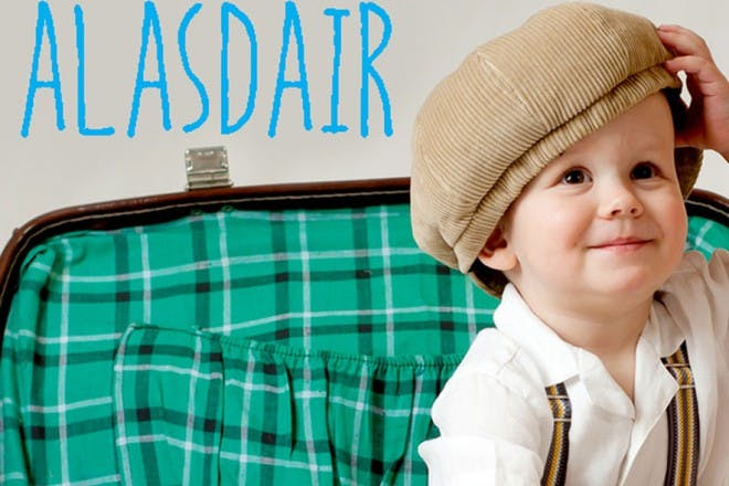 baby with brown cap