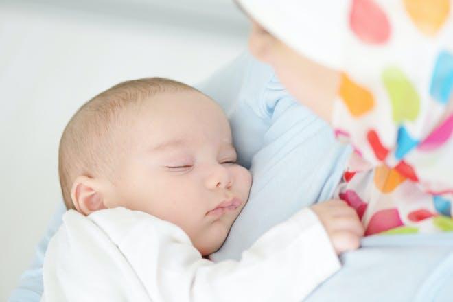 10-week-old baby