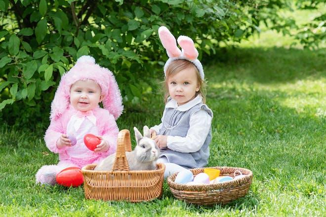 Baby egg hunt