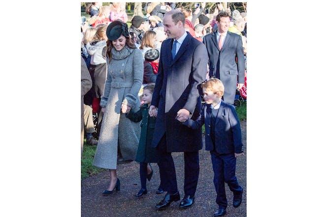 Cambridge family walk Christmas