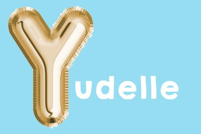 Yudelle 'y' name