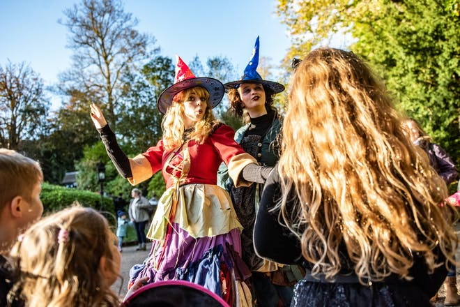 Halloween fun at Warwick Castle