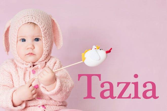 Tazia - Easter baby names