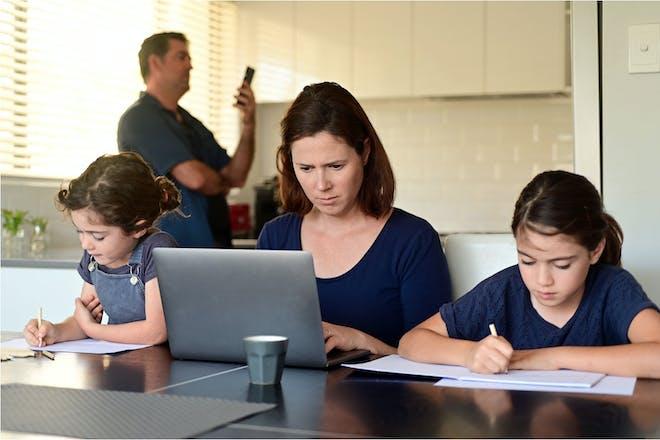 Supermum homeschooling