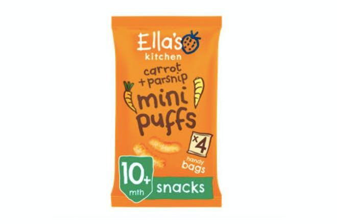 Ella's Kitchen Organic Carrot and Parsnips Mini Puffs