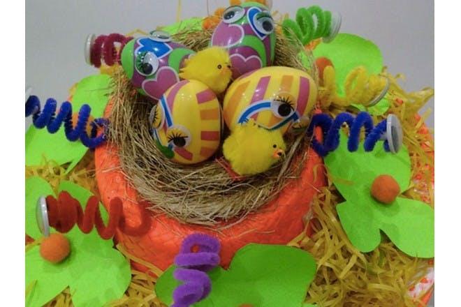 nest easter bonnet