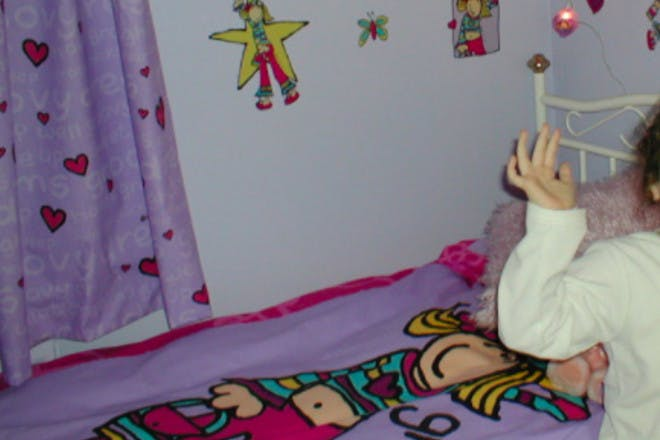 16. Our rooms were covered in Groovy Chick stuff
