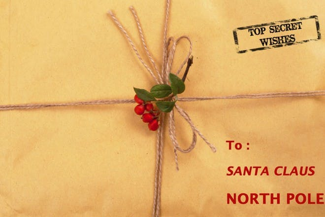 letter tied with string