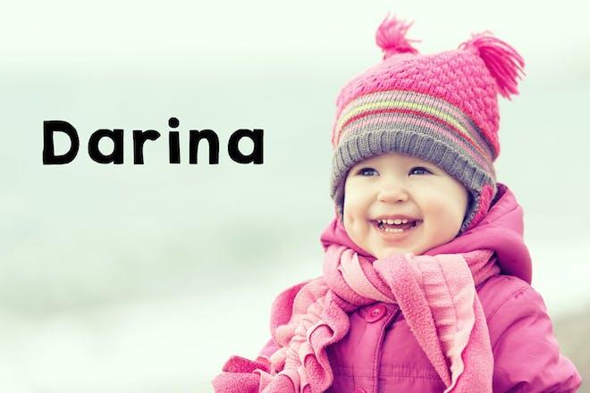 Darina baby name