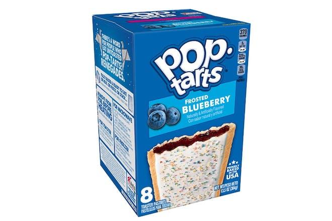 blueberry pop tarts box