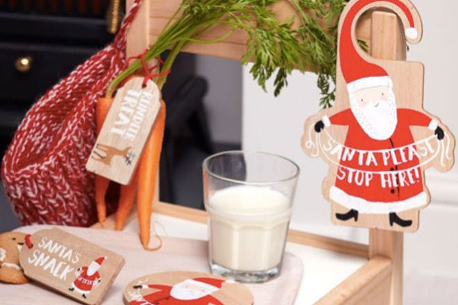 Bites taken from the snacks left out for Santa ... and Rudolph!