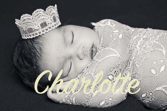 Charlotte posh baby name