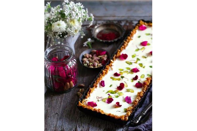 9. Petal cake