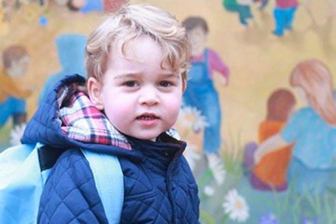 prince george outside school