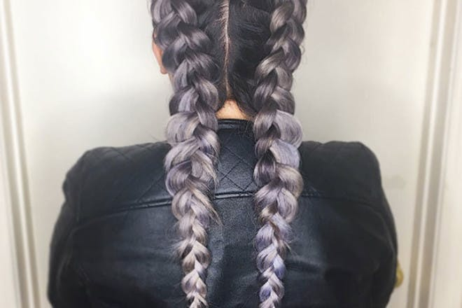 The simple French plait