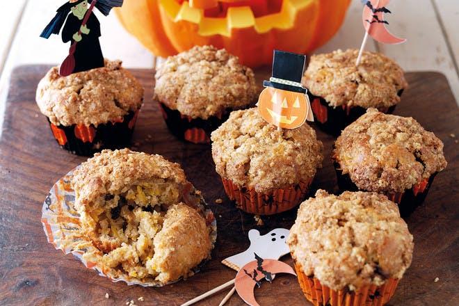 10. Pumpkin streusel muffins