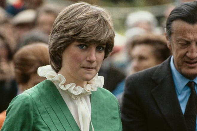 Princess Diana pictured in 1981