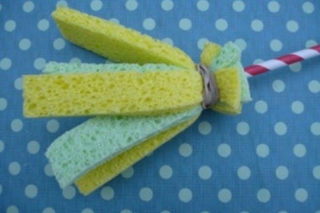 sponge paint brush